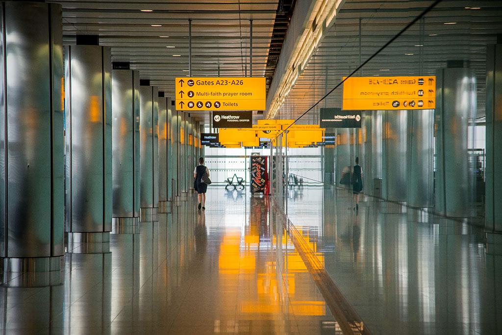 Proteggere il notebook in aeroporto